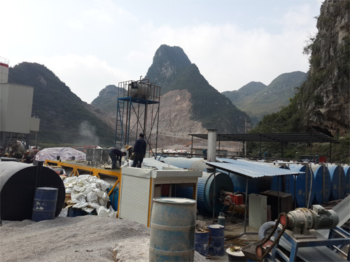 鑫衢XQCS型彩色沥青生产机组