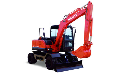 南特NT65W轮胎式挖掘机