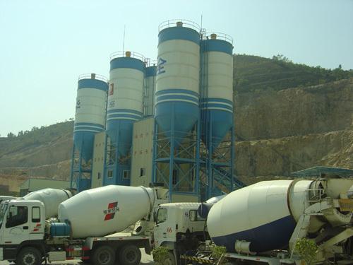 中建机械环保节能混凝土搅拌站 270m3混凝土搅拌站