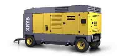 阿特拉斯·科普柯DrillAir™空气压缩机高清图 - 外观