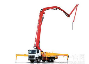 三一重工SY5419THB560C-8混凝土输送泵车高清图 - 外观