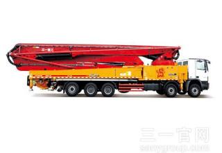 三一重工SY5631THB 660C-8混凝土输送泵车高清图 - 外观