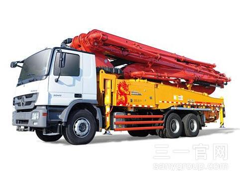 三一重工SY5330THB 490C-8S混凝土输送泵车