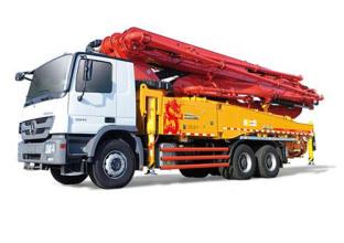 三一重工SY5332THB 490C-8S49米C8系列混凝土泵车高清图 - 外观