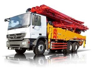 三一重工SY5295THB 380C-838米C8系列混凝土泵车高清图 - 外观