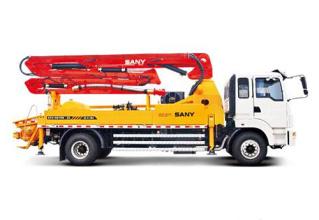 三一重工SY5190THB 25E25米C8系列混凝土泵车高清图 - 外观