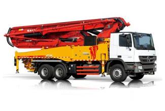 三一重工SY5330THB 470C-8S混凝土输送泵车高清图 - 外观