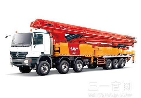 三一重工SY5631THB 720C-8混凝土输送泵车