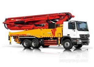 三一重工SY5336THB 470C-8S47米C8系列混凝土泵车高清图 - 外观