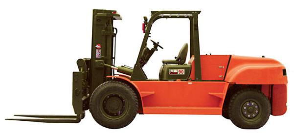 大连叉车CPCD100平衡重式内燃叉车(8-10吨)