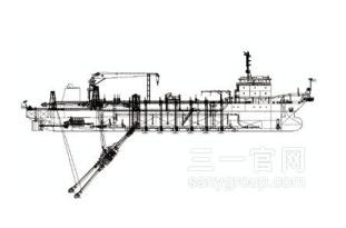 三一重工耙吸式挖泥船海工装备