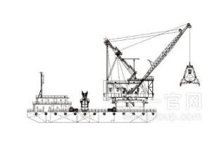 三一重工抓斗式挖泥船海工装备