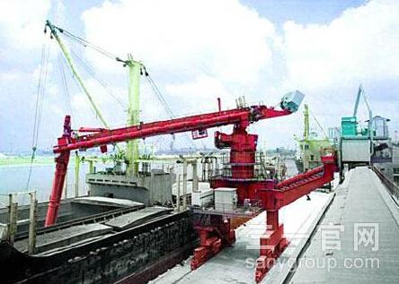 三一重工700系列SM640T螺旋式连续卸船机