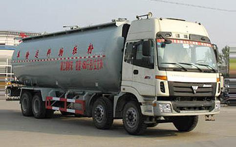 湖北合力福田欧曼前四后八粉粒物料运输车-BJ5313VNCJJ-S