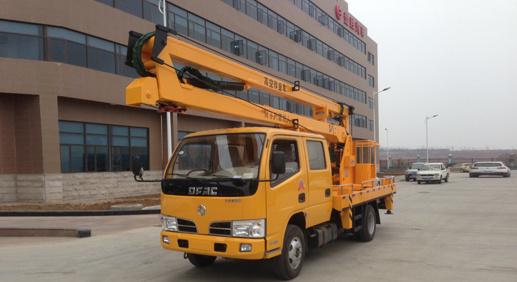 楚胜12米14米16米高空作业车-EQ1060NJ20D3