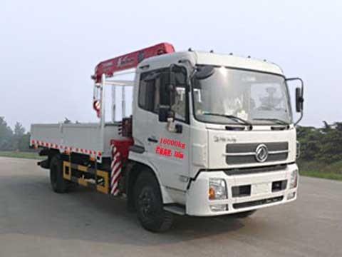 楚飞国四东风天锦(8吨)随车起重运输车/随车吊