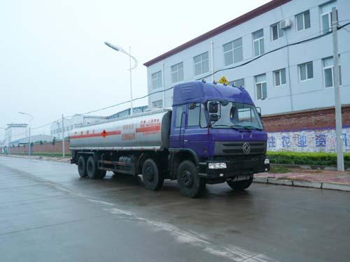 楚飞东风前四后八(26.2立方)化工液体运输车