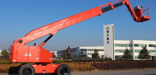 航天晨光CGJ-PS-24A自行走混合臂式高空作业平台