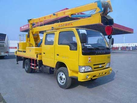 楚飞跃进双排轻卡(14-16米)高空作业车