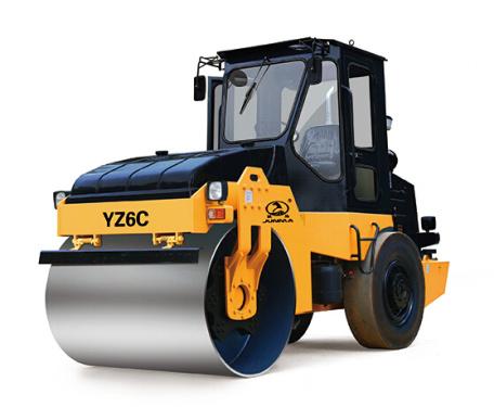 骏马YZ6C/YZD6C单钢轮振动/振动振荡压路机