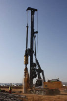 利勃海尔LB 28旋挖钻机