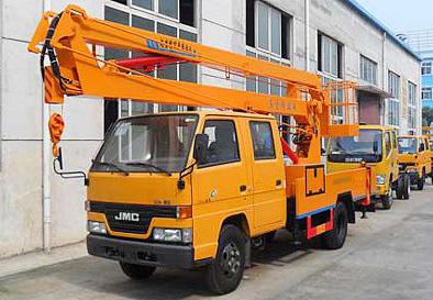 湖北合力江铃14米高空作业车