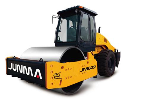 骏马JM622单钢轮振动压路机