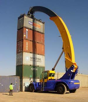 利勃海尔LRS 645集装箱正面吊