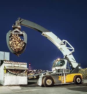 利勃海尔LRS 645 LH (Log Handler)集装箱正面吊