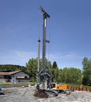 利勃海尔LB 36旋挖钻机