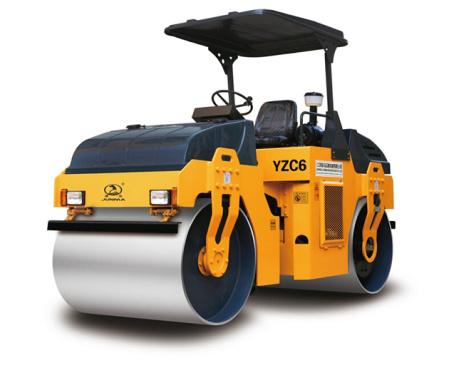 骏马YZC6/YZDC6双钢轮振动/振动振荡压路机