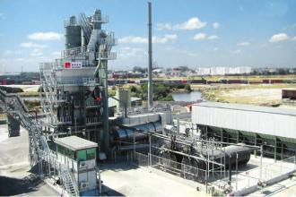 德基机械DG系列常规型沥青混合料搅拌设备高清图 - 外观