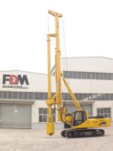 富岛机械FD850A旋挖钻机高清图 - 外观