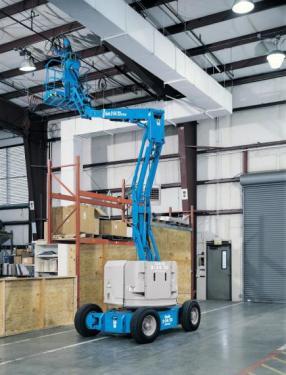 美国吉尼Z™-34/22 DC & Bi-Energy曲臂式高空作业平台