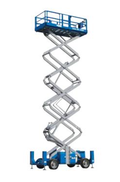 美国吉尼GS-5390 RT自行式剪型高空作业平台