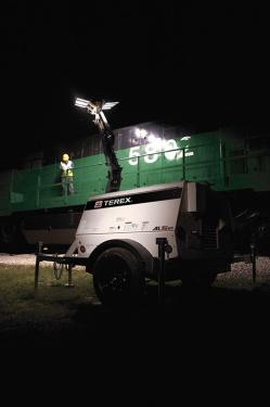美国吉尼AL5 HT拖车式灯塔