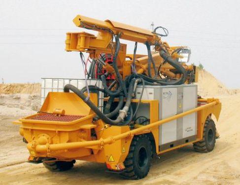 华中建机HPS30湿喷机械手