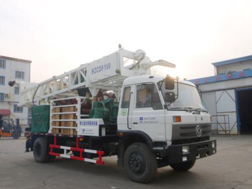 滨州钻机BZCDF150SDF车载式反循环动力头钻机