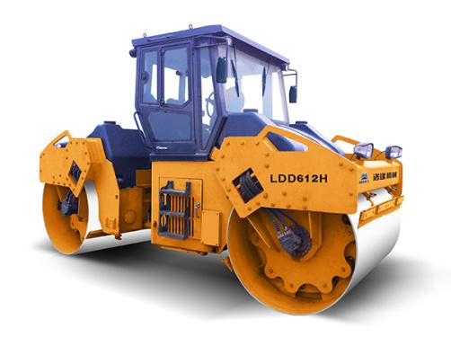 国机洛建LDD612H-614H全液压双钢轮振动压路机