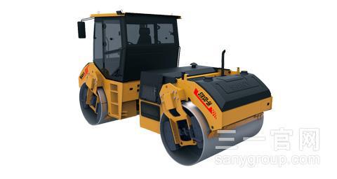 三一重工STR130-5H双钢轮压路机