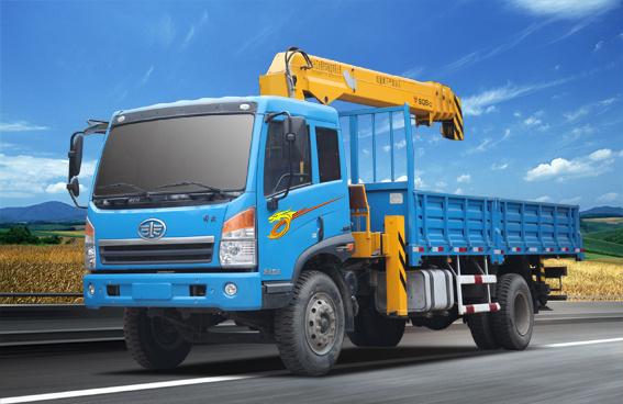 青岛解放MQ5163JSQJ随车起重运输车