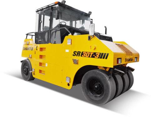 山推SR26T-3轮胎压路机