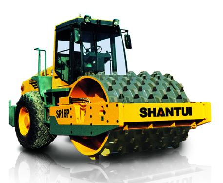 山推SR16P全液压单钢轮压路机