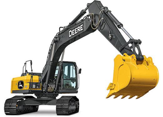 约翰迪尔E260 LC挖掘机