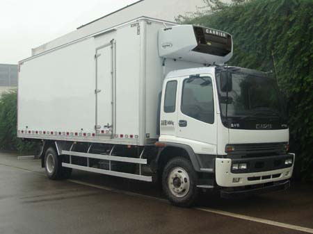 东风QL5140XLC9QFRJ冷藏车