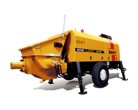 三一重工HBT6013C-5电动机混凝土拖泵