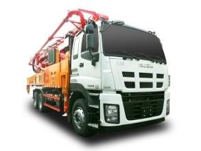 三一重工SYM5337THBDW 490 C9C9系列混凝土泵车高清图 - 外观