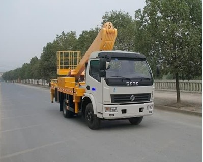 江特东风国四18米折臂高空作业车{带环保}