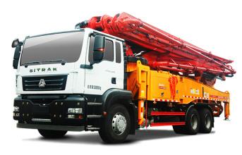 三一重工SYM5330THBDZ 490C-8S泵车高清图 - 外观