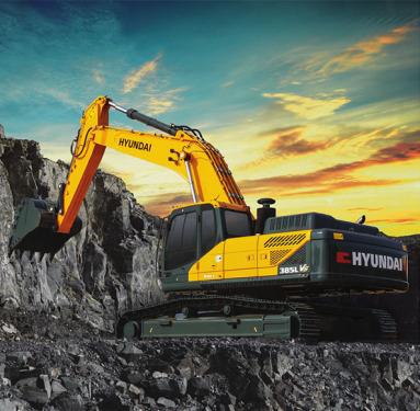 现代385LVS挖掘机